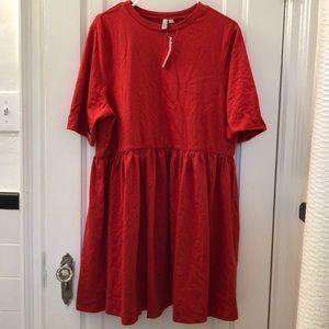 NWT ASOS Cotton Smock Dress